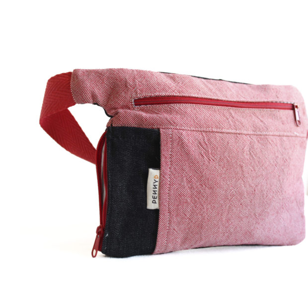 pink pouch water bottle holder