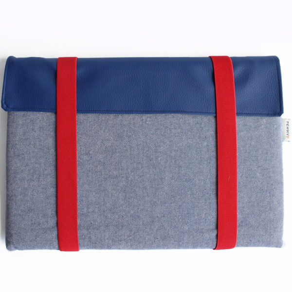 laptop sleeve blue