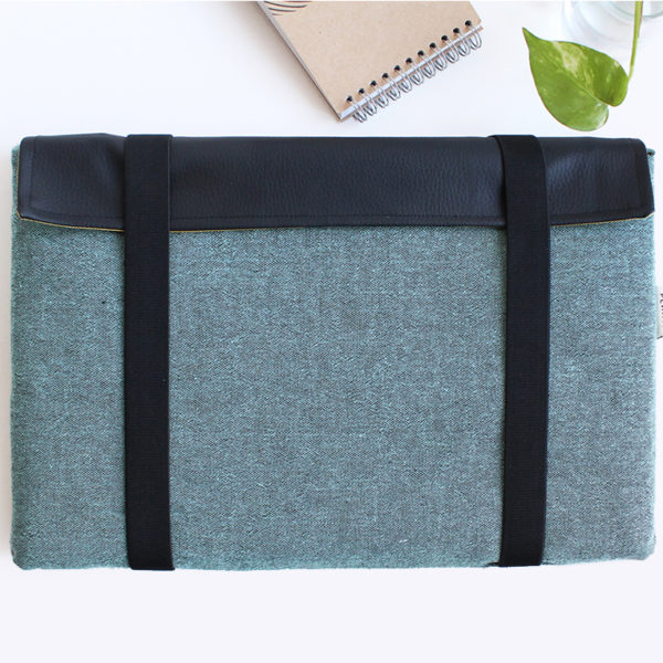 laptop sleeve green