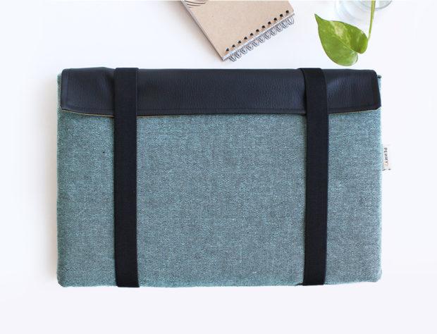 laptop sleeve green