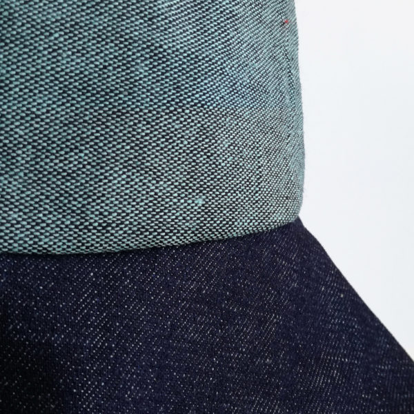 green denim fabrics