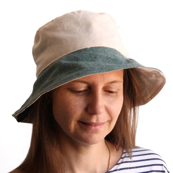 bucket hat wide brim